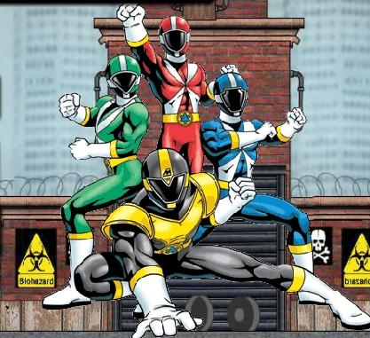 Power Rangers Double Adventure