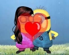 Minions Kissing