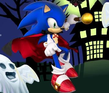 Sonic Halloween Jump