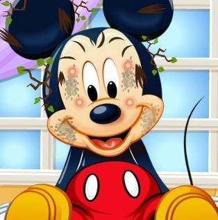 Mickey Mouse Facial Spa