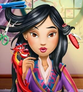 Mulan Real Hairstyle