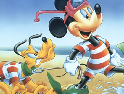 Mickey And Pluto Puzzle