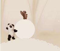 Panda And Squirrel