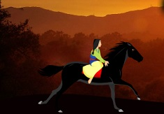 Mulan Horse Riding