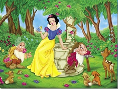 Snow White Forest Puzzle
