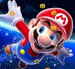 Super Mario Pumpkin