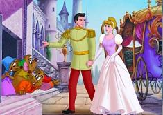 Cinderella And Prince Puzzle