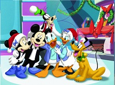 Mickey Mouse Clubhouse Christmas Puzzle