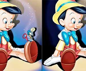 Pinocchio Differences 2