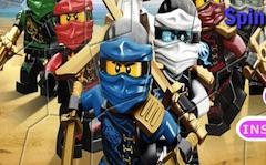 Lego Ninjago Spin Puzzle Game